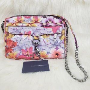 REBECCA MINKOFF floral crossbody bag